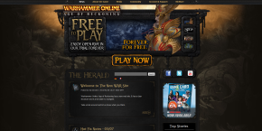 Warhammer Online - New Website